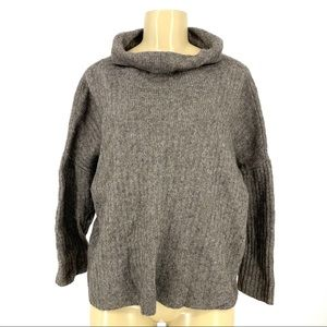 Eileen Fisher Women Yak/Wool mock neck sweater